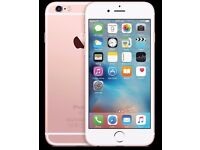 IPHONE 6S ROSE GOLD/ UNLOCKED / 16 GB/ VISIT MY SHOP. / GRADE A / WARRANTY + RECEIPT