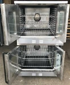 Doulbe stack Garland Master Convection ovens