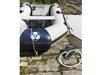 Yamaha 300 S Dinghy Boat with Launching Trailer