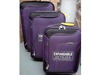 Skyflite 65L Escort 9001 Luggage Suitcase Set of three cases.