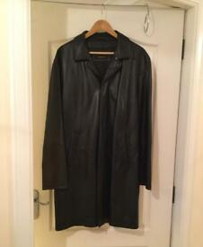Milestone men's leather coat