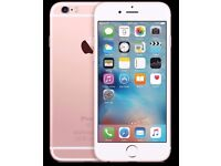 IPHONE 6S ROSE GOLD- VISIT MY SHOP. - 16 GB - UNLOCKED - GRADE A - WARRANTY + RECEIPT