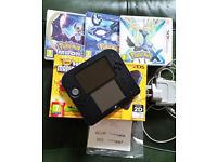 Nintendo 2DS Super Mario Bros 2 Special Edition and 3 Pokemon Games