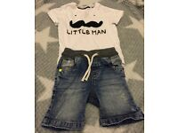 Next boys summer outfit - 6-9 months