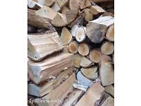 *Kiln dried birch/Oak hardwood firewood logs* open fires, multi fuel stoves. **Delivery available**