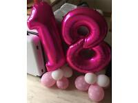 18th Birthday Baloons