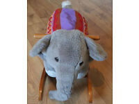 Mamas and Papas rocking elephant / rocker for baby & toddler