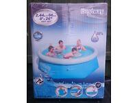 Brand New & Sealed Bestway 8ft Fast Set Paddling Pool