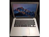 "Apple Macbook Air 13.3"" Core i5 4gb 128gb June 2013 No swap, Scammers Or Paypal"