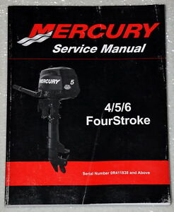 2011 mercury outboard 4 5 6 hp 4 four stroke factory shop mercury service manual - 35-125 hp Difference in 25 HP and 35 HP Mercury
