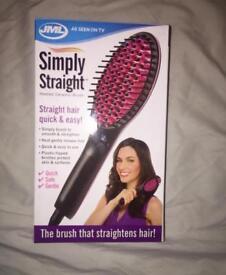 Hair Brush Straighteners Brand New