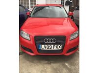 2009 Audi A3 2.0 tdi Black addition replica