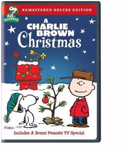 DVD - A Charlie Brown Christmas (Remastered Deluxe Edition)