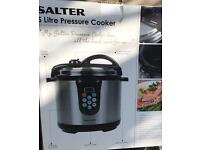 5 Litre Salter Electric Pressure Cooker