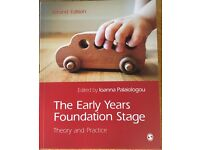 The Early Years Foundation Stage - Theory and Practice