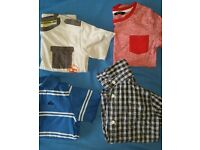 Bundle of shirts and t-shirts boy 4-5