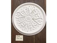 Ceiling rose Traditionally hand made with hessian and plaster