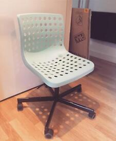 FREE turquoise Ikea desk chair