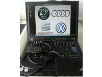 Vcds diagnostic and elsawin workshop manual dealer level tool for Audi VW Skoda Seat