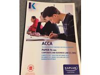 ACCA F4 ENG CORPORATE & BUSINESS LAW - STUDY TEXT