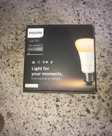 Brand New Phillips hue white starter kit.