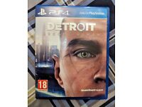 Detroit Become Human - PS4 Game *As New Condition*
