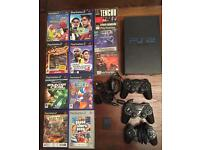 PlayStation 2 Bundle inc games, 3 controllers, memory card