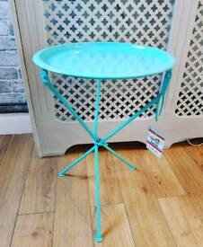 Brand new metal side tables