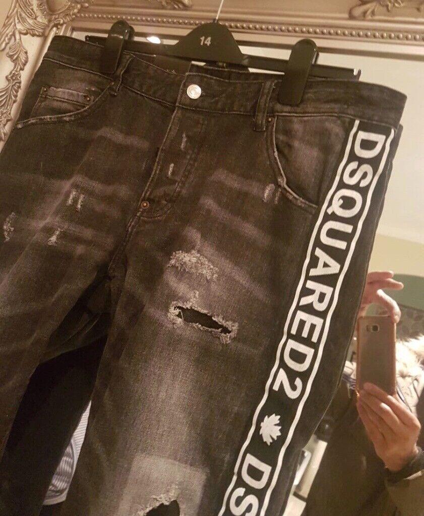 Clothes, Shoes & Accessories Jeans Dsquared2 Size 52 W36 L32 Cool Guy Jeans 100% Authentic