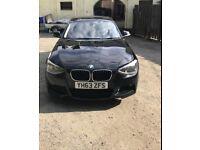 BMW 1 Series, M Sport, Black