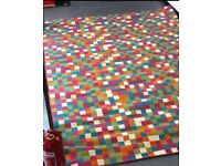 Large Colourful Pixel Rug - RRP £395