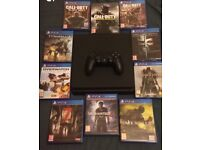 PS4 SLIM WITH 10 GAMES (REDUCED) !! IDEAL XMAS GIFT