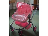 Dolls' double buggy - Baby Born