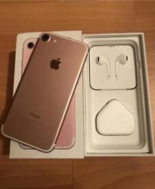 iPhone 7 Rose Gold 128GB Unlocked with WARRANTY! QUICK SALE