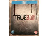 True blood boxset S1-4 (blu Ray)