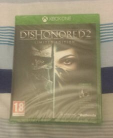 £15 - DISHONORED 2 LIMITED EDITION for XBOX ONE **BRAND NEW & SEALED**