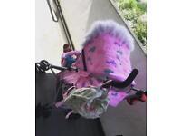My babiie stroller pushchair