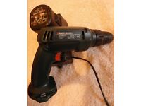 Black & decker 9.6v drill/screwdriver battery & charger with reverse. In good working order £25 ono