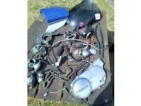 YAMAHA MOTORBIKE PARTS / JUMBLE / MOTORCYCLE SPARES