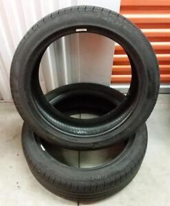 (E82) 2 Pneus Ete - 2 Summer Tires 225-45-18 Pirelli RunFlat 6-7/32