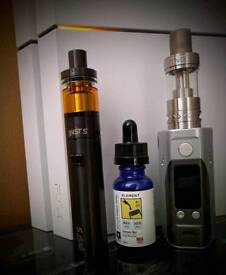 Vape Hardware Sale, Wismec, Aspire, Eleaf, Tanks, Mods, ...Sub ohm Ecig Ejuice and more