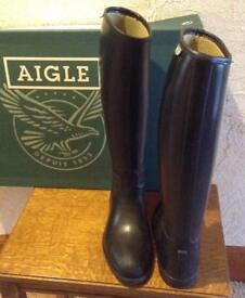 AIGLE Horse Riding Boots, Size 35