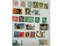Rare vintage stamps