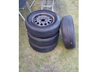 4 x Michelin Tyres excellent condition