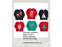 Children's Christmas jumpers