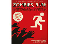 Zombies, Run! by Naomi Alderman Paperback Book Running Guide