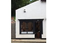 Charming shop/office to rent in Boroughbridge town