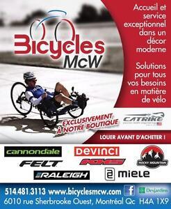 2017 CATRIKE SNEAK PEEK OF CATRIKE RECUMBENTS (Montreal Bicycle Show – 24 to 26 Feb.)