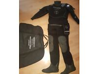Northern diver commercial drysuit