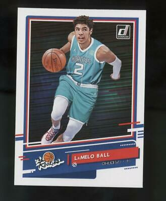 2020 Panini Donruss The Rookies #1 LaMelo Ball RC Rookie
